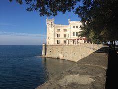 Castello di miramare  #italia #Trieste
