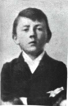 Hitler as a child ---  GAH!  He even looks evil as a child...