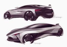 Lotus by Swaroop Roy Automotive Design, Auto Design, Rendering Techniques, Plan Sketch, Car Design Sketch, Futuristic Cars, Sketch Inspiration, Car Drawings, Cool Sketches