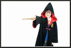 Harry Potter!  You can dress up at our shoots!
