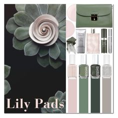 """""""Lily Pads"""" by s866422b ❤ liked on Polyvore featuring beauty, Essie, Marc Jacobs, Burberry, RéVive, Christian Dior, Urban Decay, Beauty, makeup and nailpolish"""