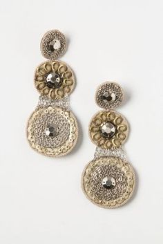 Antwerp Earrings- from Anthropologie