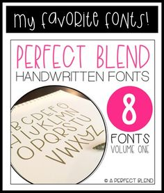 """I recently had several requests to blog about my favorite fonts and I thought, """" what a GREAT idea!!!!"""" because I know I'm not alonein m..."""