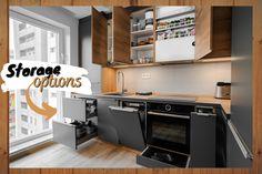 #kitchendetails #kitchenideas #kitchenstorage #kitchenorganization #storageoptimization #IXINA #IXINAlinea #IXINAkitchen #ideidelaixina #germankitchens #kitchengermandesign #bucatarieIXINA Modern Kitchen Design, Kitchen Cabinets, Storage, Home Decor, Purse Storage, Decoration Home, Room Decor, Cabinets, Larger