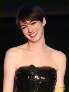 Anne Hathaway: Cinema Audio Society Awards 2013    How perfect is she?