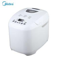 Midea white2.0l máquinas de padaria pão maker para cozinha 220 v auto manter quente 12 horas preset automático máquina de fazer pão para café da manhã em Panificadoras de Melhoramento Da casa no AliExpress.com   Alibaba Group