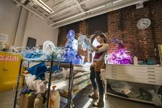 Plastics and the environment Artist Aurora Robson