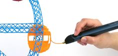 Draw in the air! Doodle anything in 3D with the 3Doodler 3D pen. Lift your imagination off the page! #WhatWillYouCreate?