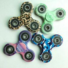 Camouflage Tri-Spinner Fidget Toys 3D Fidget EDC Hand Spinner Anti Stress Toys   eBay