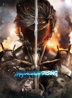 Metal gear rising revengeance poster video game art pinterest metal gear rising revengeance poster voltagebd Image collections