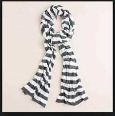 J. Crew Stripe Scarf. Get the lowest price on J. Crew Stripe Scarf and other fabulous designer clothing and accessories! Shop Tradesy now