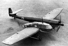 Blohm & Voss made 38 of these planes for the Luftwaffe but never got a purchase order. Richard Vogt, the designer, went on to become one of the many mad Nazi scientists picked up by Allied military research organizations and designed the first swing-wing aircraft for the USAF.