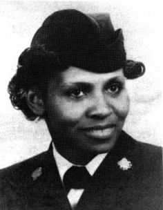 In February 1945, Olivia Hooker became one of the first African-American females admitted into the United States Coast Guard when she joined the service during World War II. U.S. Coast Guard photo.