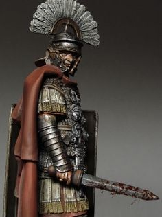 Roman Centurion on Pinterest | Roman Soldiers, Roman Armor and ...