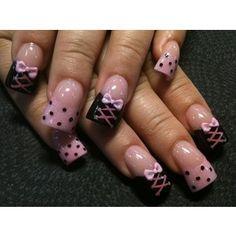 corset nail art