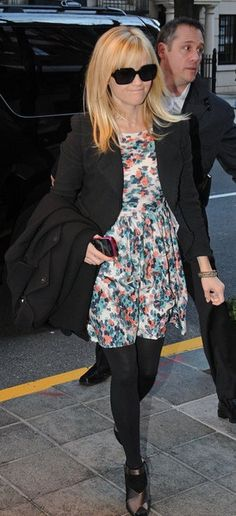 Alice Floral Sleeveless Dress-As Seen on Keira Knightley