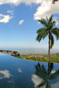 Strawberry Hill, in Irish Town Jamaica. Owned by Chris Blackwell. Beautiful spot #thisisjamaica