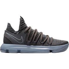 Nike Men's Zoom KD 10 Basketball Shoes, Gray