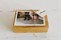 Oak wood box for 10x15cm prints