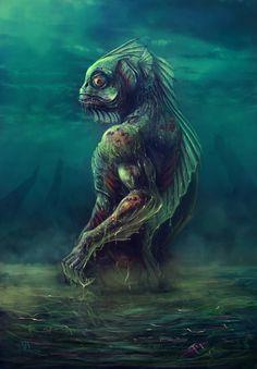 DAGON Père des Profonds (Grand Ancien) Dagon est un « grand ancien », dieu poisson, dans le mythe de Cthulhu de Lovecraft. Sa première apparition se situe dans la nouvelle éponyme de 1917, bien que [...]