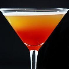 gangster martini...Tuaca, Amaretto, Vodka & Pinapple juice
