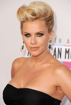 Jenny McCarthy   Celebrities Bring Back the Pompadour (Again!)