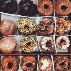 Assorted donuts. Thanks to @maitaitay for the tasty tag at @doritedonuts #chicago #chicagofood #chicagofoodmag #donuts