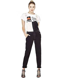 3f75a38ff5 Guess Originals Two Tone Originals Overalls Size 30 LF171 OO 07  fashion   clothing