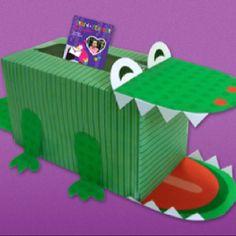 Fun valentine's card box for school valentines