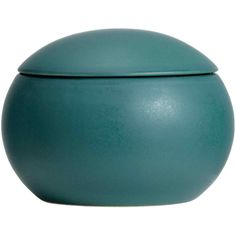 Round stoneware box ($9.04) ❤ liked on Polyvore featuring home, home decor, small item storage, lidded box and round boxes