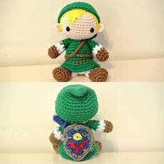 Link Legend of Zelda Amigurumi