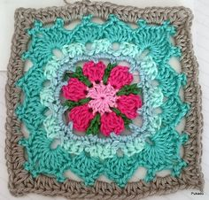 Ravelry: Crochet Mood Blanket 2014 - October Square by Pukado pattern by Patricia Stuart
