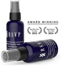 RSVP Anti Aging Face Serum for Men - Natural Organic Antioxidant Rich Formula to Fight Age Spots and Free Radicals - Preserves Collagen and Reduces Wrinkles and Fine Lines - Safe for Sensitive Skin -- See this great product.