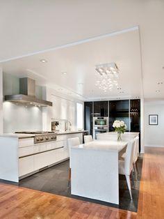 Brazil Black Slate Kitchen Flooring