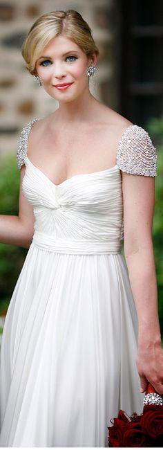 Reem Acra wedding dress <3 #bride