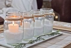 17 Modern Advent Wreath Ideas that are Beautiful and Meaningful! : 17 Modern Advent Wreath Ideas that are Beautiful and Meaningful! 17 Modern Advent Wreath Ideas that are Beautiful and Meaningful! Christmas Mantels, Christmas Diy, Christmas Decorations, Christmas Countdown, Handmade Christmas, Advent Candles, Mason Jar Candles, Holiday Candles, Red Candles