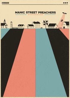 manic street preachers | poster
