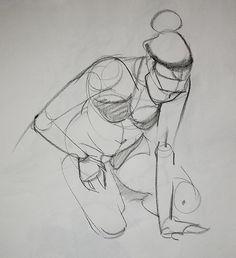 Female Gesture, Andrea Ballestero on ArtStation at https://www.artstation.com/artwork/female-gesture