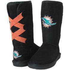 Miami Dolphins Cuce Women's Conqueror Boots - $109.99