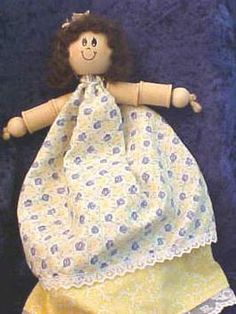 Topsy-Turvy Spool Dolls : Archive : Home & Garden Television