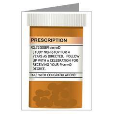 Pharmacy Graduation Card