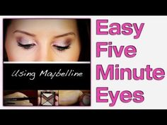 Easy polished makeup ~ perfect for rushed mornings
