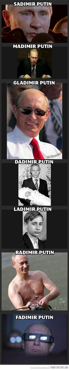 Vladimir Putin's cousins…