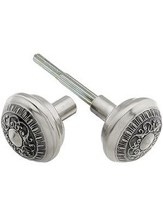 Octagonal Clear Glass Door Knobs. Pair of Octagonal Glass Doorknobs ...