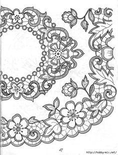 Резултат слика за Lene Richelieu e Bainha Aberta: riscos de centro de mesa richelieu da net Cutwork Embroidery, Hand Embroidery Stitches, White Embroidery, Vintage Embroidery, Embroidery Patterns, Machine Embroidery, Lace Painting, Point Lace, Sewing Art