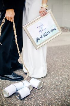 simple signage // photo by Jody Savage Photography