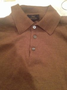 """Brooks Brothers 346 1/4 Collar, 3 button, 100% Merino Wool, Brown long sleeve shirt.   Width (Armpit-Armpit): 21""""-22""""  Length (Top of the collar-to Bottom): 31""""-32"""" Pre-owned Great Condition Made in Hong Kong  Made with Extra Fine Italian Merino. visit www.ebay.com/bigthax62 to purchase!! #BrooksBrothers346 #Nice #Great #Ebay #Wool"""