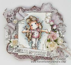 Handmade by Tamara: Tiptoe Tilda for IAR