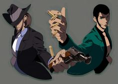 lupin and jigen Lupin the Third