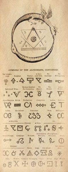 ☤alquimia - Symbols